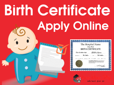 Birth Certificate Apply Online